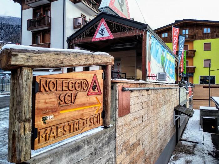 Noleggio sci Andalo