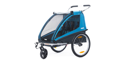 Children bicycle trailer THULE COASTER