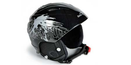 Casco sci REBELL 1152 BLACK