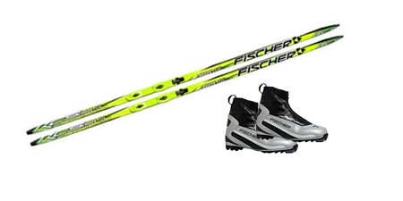 Nordic ski SET SCI FONDO + SCARPE